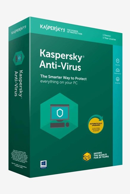 Kaspersky Antivirus Latest Version (1 PC/1 Year)