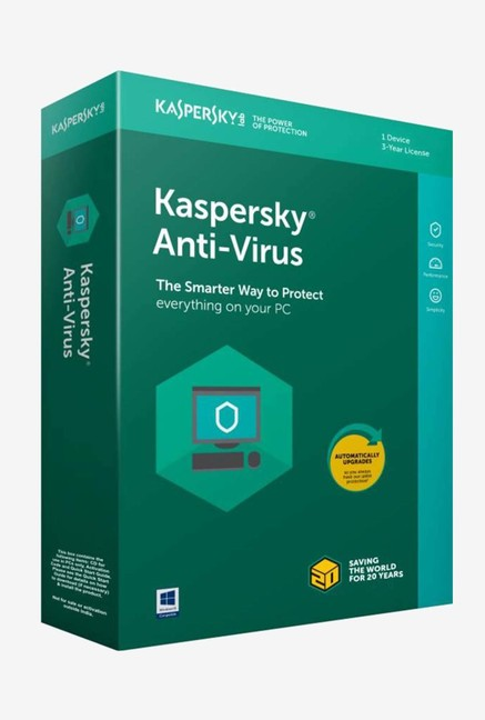 Kaspersky Antivirus Latest Version (1 PC/3 Year)