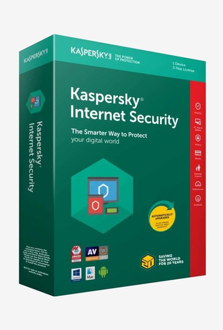 Kaspersky Internet Security Latest Version (1 PC/3 Year)