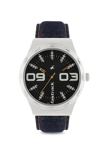 Fastrack 3183SL02 Denim Analog Watch for Men