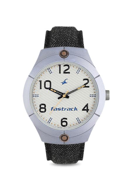 8113827d99d Buy Fastrack 3191AL02 Denim Analog Watch for Men at Best Price ...