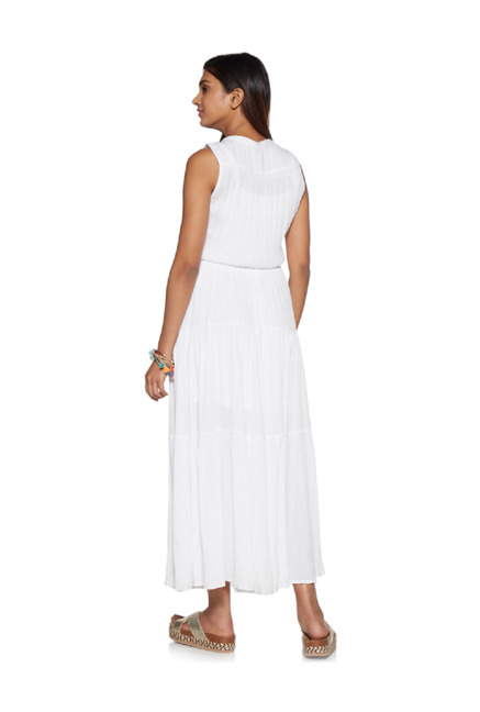 841aecbbf35 Buy LOV by Westside White Tiered Maxine Dress for Women Online ...