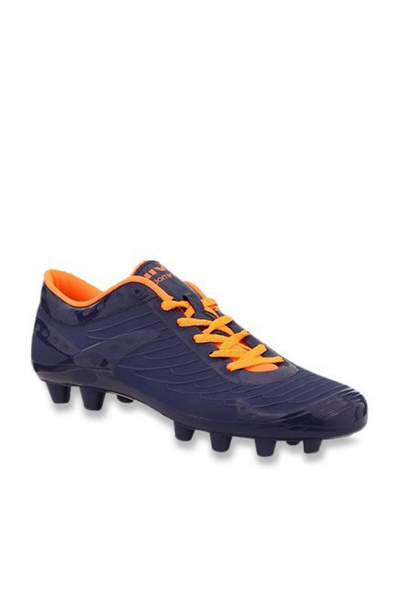 Nivia Dominator Navy Football Shoes