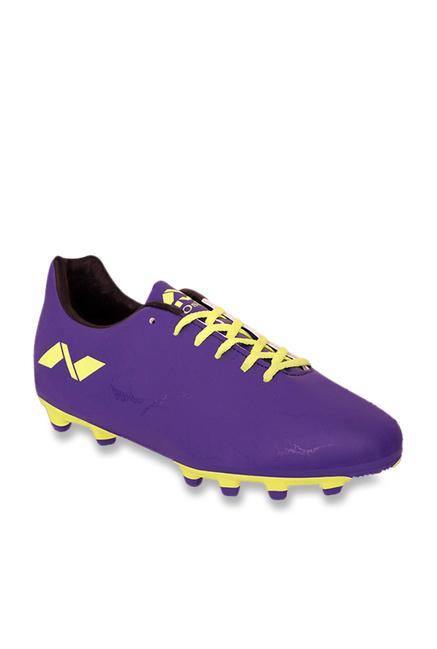Nivia Oslar Purple Football Shoes