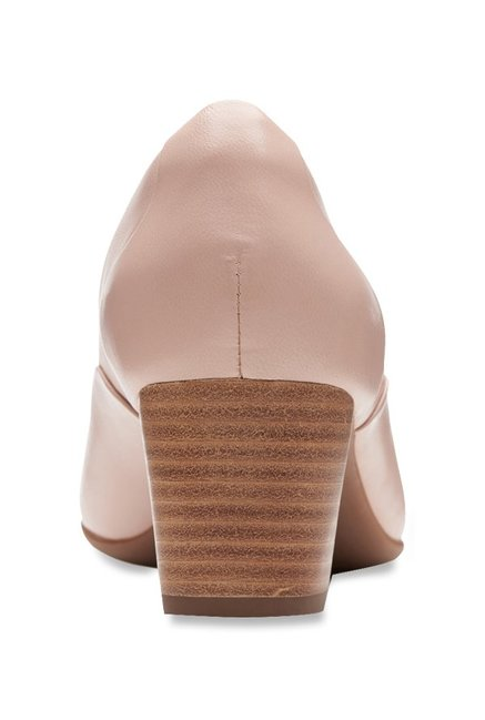 f515d50c2dd Buy Clarks Un Cosmo Step Blush Pink Pumps for Women at Best Price ...