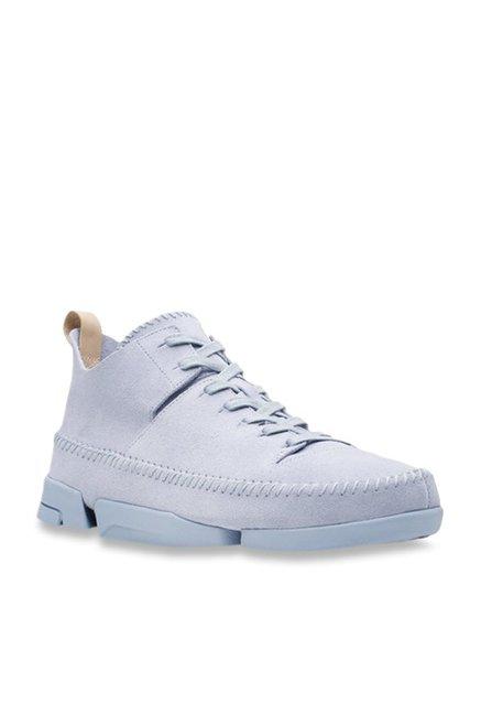 Clarks Trigenic Flex Sky Blue Sneakers