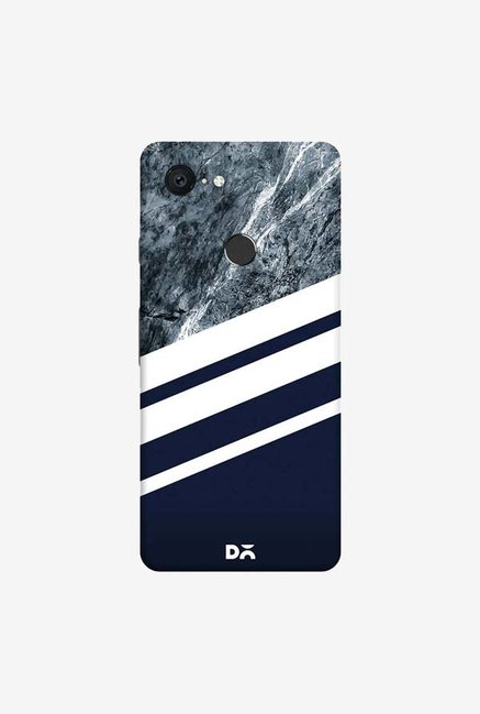 DailyObjects Marble Navy Case Cover For Google Pixel 3 XL