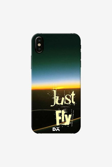DailyObjects Just Fly Case Cover For iPhone X