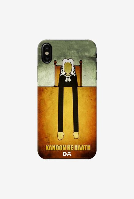 DailyObjects Kanoon Ke Haath Case Cover For iPhone X
