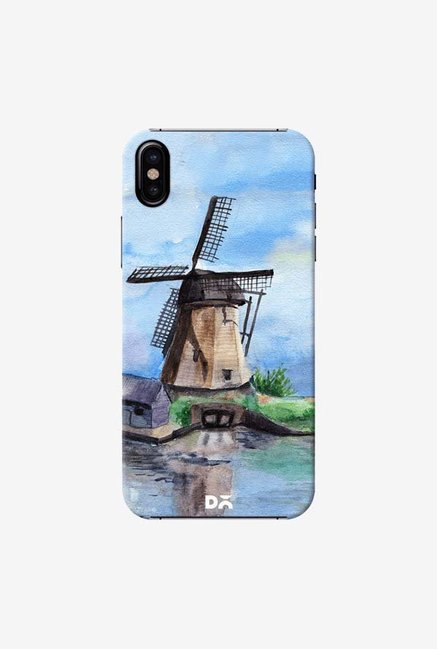 DailyObjects Lazy Mill Case Cover For iPhone X