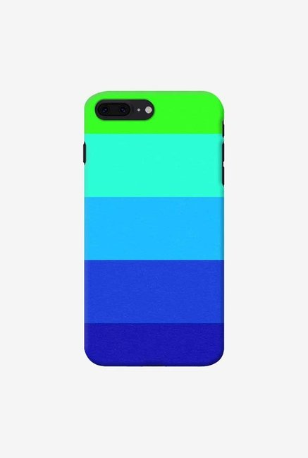 DailyObjects Mindscape Blue Pattern Case For iPhone 7 Plus