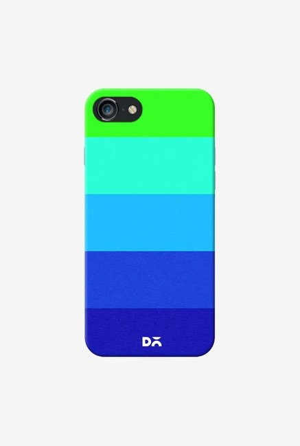 DailyObjects Mindscape Blue Pattern Case For iPhone 7