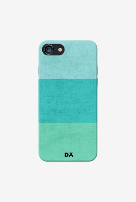 DailyObjects Three Stripes Teal Case For iPhone 7