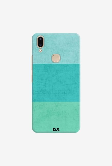 DailyObjects Three Stripes Teal Case Cover For Vivo V9
