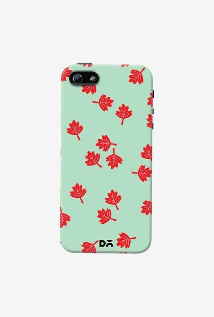 DailyObjects Maple Leaf Mint Case Cover For iPhone 5/5S