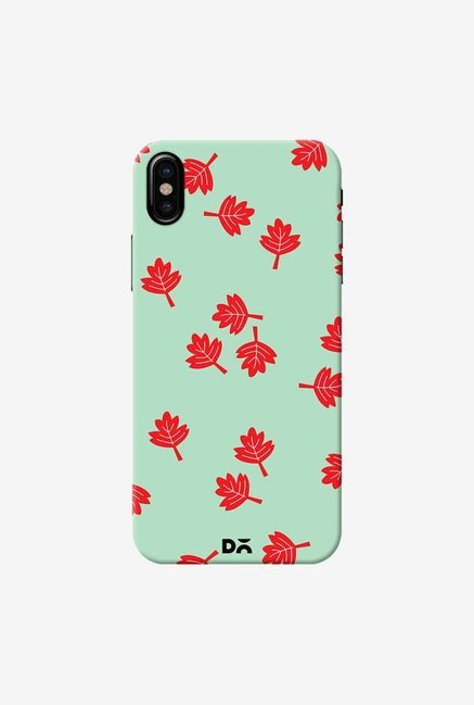 DailyObjects Maple Leaf Mint Case Cover For iPhone X