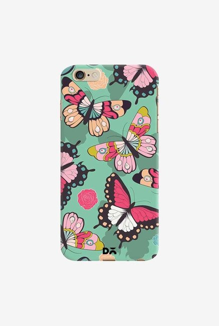 DailyObjects Butterflies Green Case Cover For iPhone 6 Plus