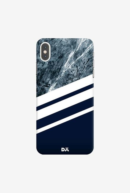 DailyObjects Marble Navy Case Cover For iPhone XS Max