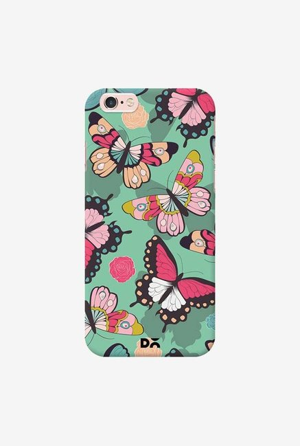 DailyObjects Butterflies Green Case Cover For iPhone 6S