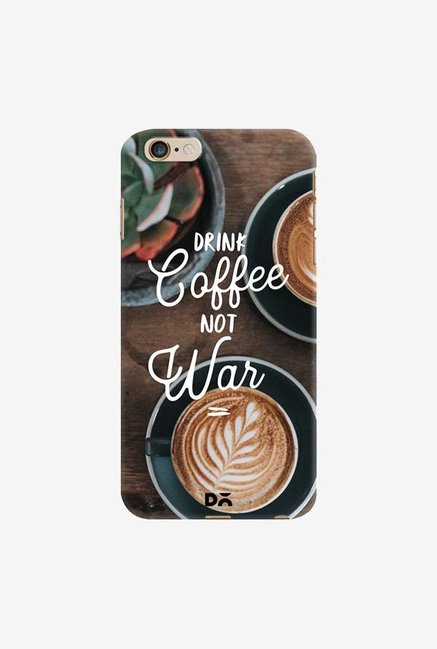 DailyObjects Coffee Not War Case Cover For iPhone 6 Plus