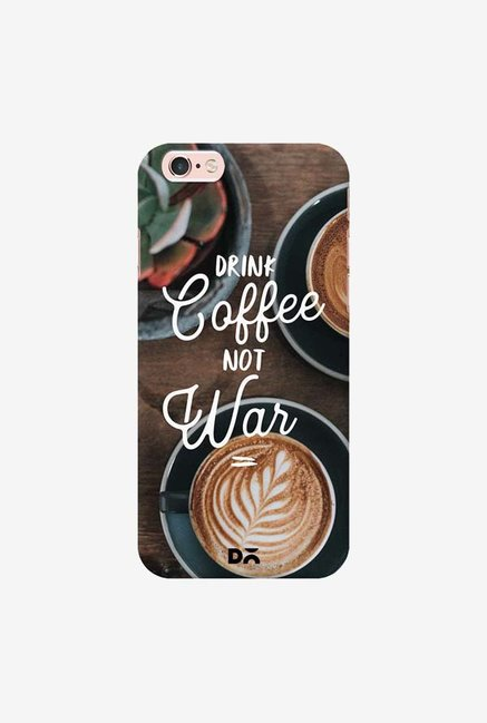 DailyObjects Coffee Not War Case Cover For iPhone 6S