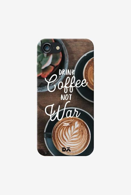 DailyObjects Coffee Not War Case Cover For iPhone 8
