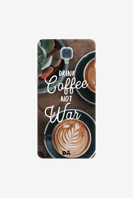 DailyObjects Coffee Not War Case Cover For OnePlus 3T