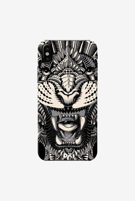 DailyObjects Eye of The Tiger Case Cover For iPhone X