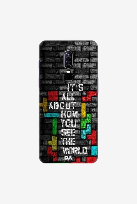 DailyObjects How You See The World Case Cover For OnePlus 6