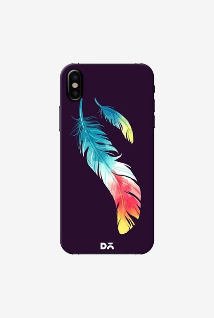 DailyObjects Feather In Colors Case Cover For iPhone X