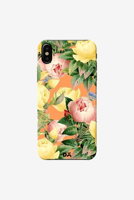DailyObjects Flora Repeat Case Cover For iPhone X