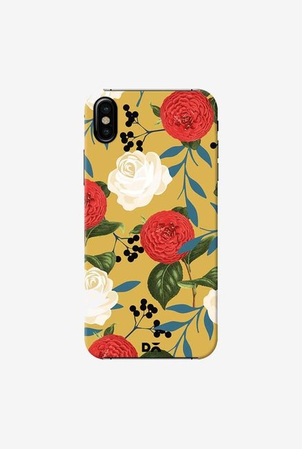 DailyObjects Floral Obsession Case Cover For iPhone X