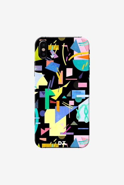 DailyObjects Geometric Pop Case Cover For iPhone X