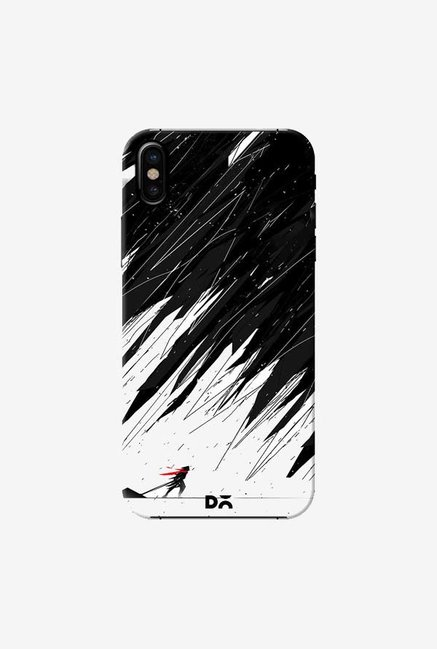 DailyObjects Geometric Storm Case Cover For iPhone X