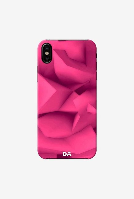 DailyObjects Pink Surface Case Cover For iPhone X