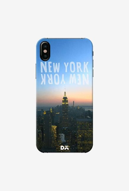 DailyObjects New York Cityline Case Cover For iPhone X