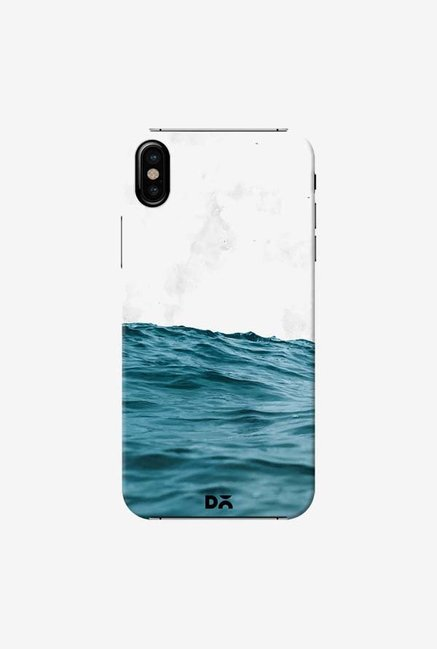 DailyObjects Ocean Marble Case Cover For iPhone X