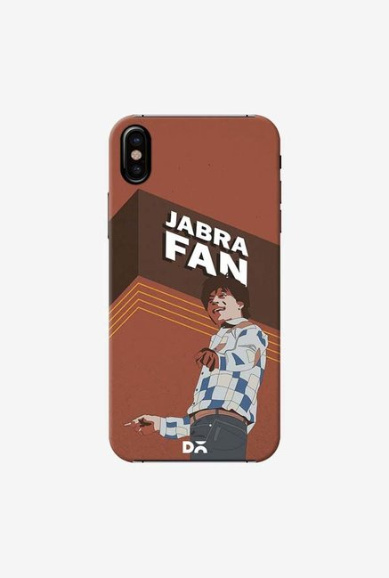 DailyObjects Jabra Fan Case Cover For iPhone X