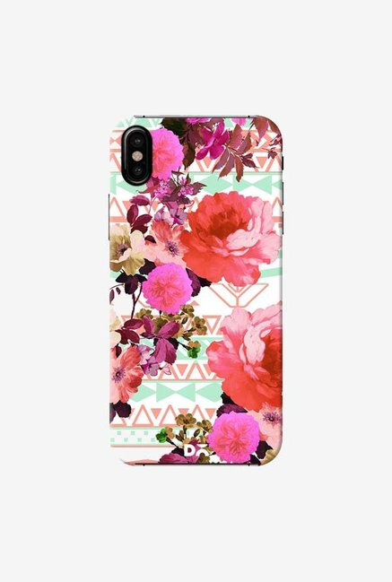 DailyObjects Flower In The Tribe Case Cover For iPhone X