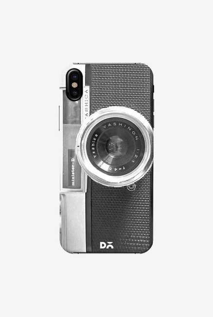 DailyObjects Old School Camera Case Cover For iPhone X