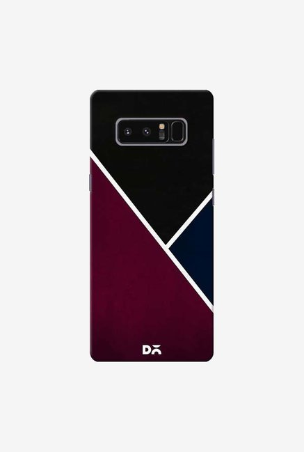 DailyObjects Red And Royal Case Cover For Samsung Galaxy Note 8