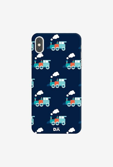 DailyObjects Little Train Blue Case Cover For iPhone XS Max