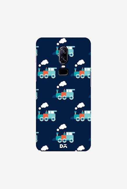 DailyObjects Little Train Blue Case Cover For OnePlus 6