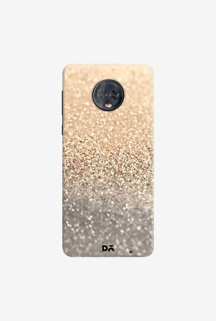 DailyObjects Gatsby Gold Case Cover For Motorola Moto G6 Plus