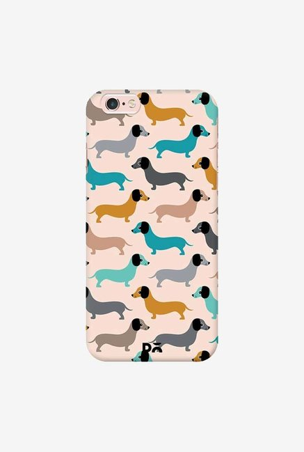 DailyObjects Sausage Dogs Blue Case Cover For iPhone 6S