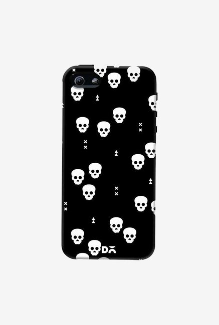 DailyObjects Spooky Skulls Black Case Cover For iPhone 5/5S