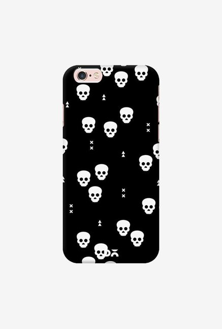 DailyObjects Spooky Skulls Black Case Cover For iPhone 6S