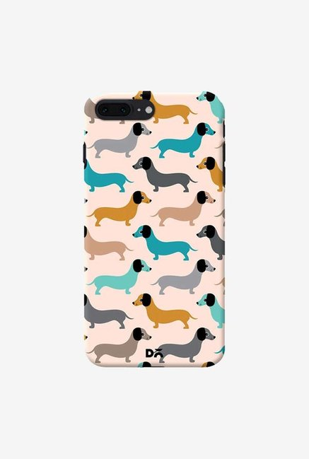 DailyObjects Sausage Dogs Blue Case Cover For iPhone 7 Plus