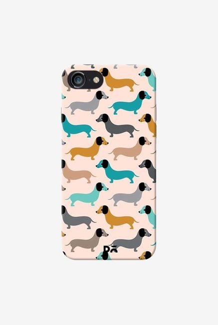 DailyObjects Sausage Dogs Blue Case Cover For iPhone 7