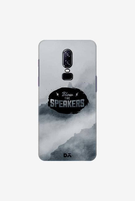 DailyObjects Blow The Speakers Case Cover For OnePlus 6